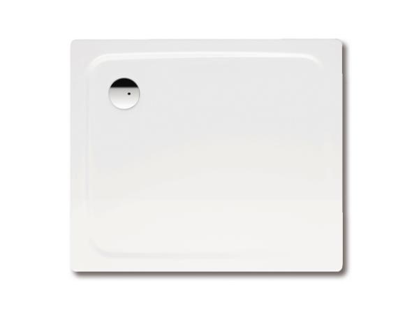 Brausewanne 100x120x2,5 cm weiß