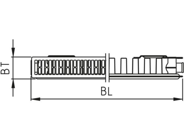 Kermi Profil-K FK0 11 EKc 600 x 2600