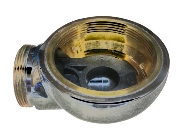 Techem Ventilzähler Messkapselgehäuse verchromt