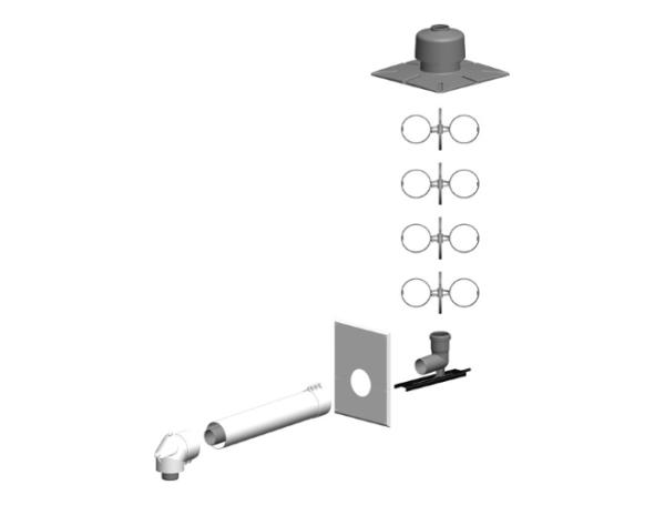 ATEC Schacht-Set DN80/125