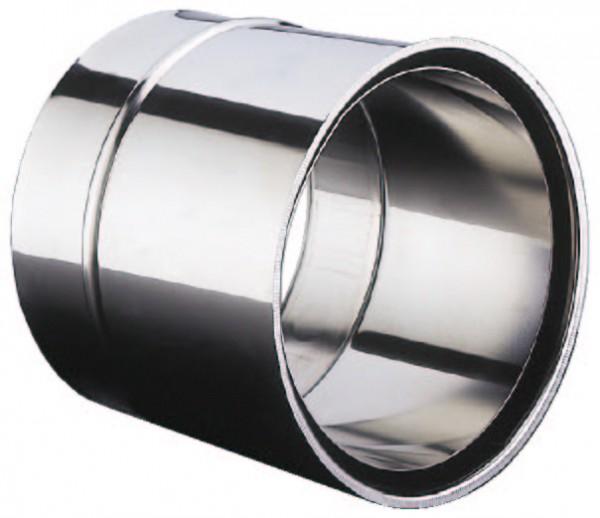 SUR Edelstahl Abgaswandfutter 130 x 0,6 mm doppelt
