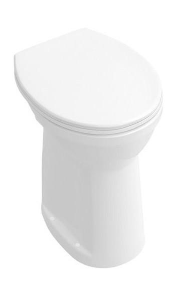 Villeroy & Boch Stand Flachspül-WC O.novo Sitzhöhe 46 cm