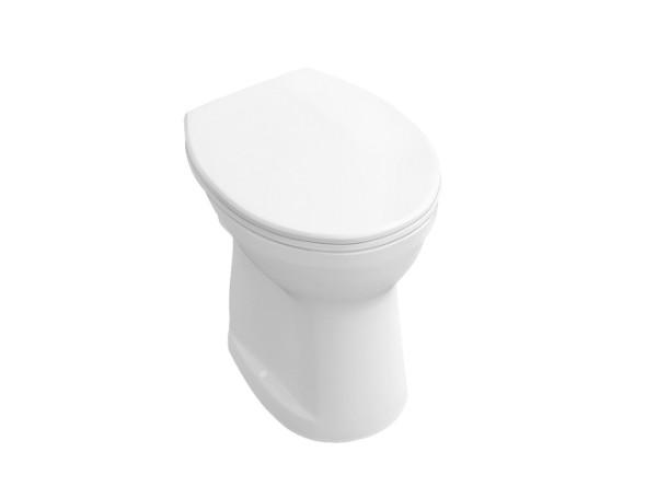 V+B Tiefspül-WC O.novo weiß waagerecht